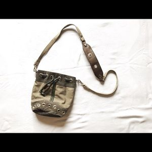 Cute Olive Green Edgy Purse